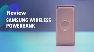 Samsung <b>Wireless Powerbank</b> review - YouTube