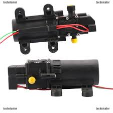 DC 12V 70W Mini Micro Diaphragm High Pressure Water <b>Pump</b> ...