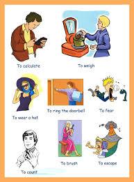 verbs action verbs