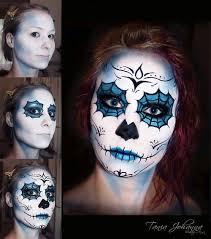 makeup tania model follow follow me tania johanna sugar skull facepainting facepainting spiderweb eyes day of the dead facepaint