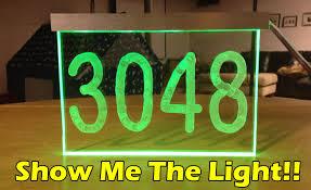 Make LED Light House Number  DIY Build Project