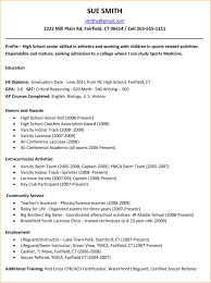 high school resumes bibliography format related for 10 high school resumes