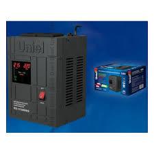 <b>Стабилизатор</b> напряжения <b>Uniel RS</b>-<b>1</b>/<b>1500WS</b> релейный ...