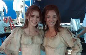 SmartMom What I Learned Heather Arthur Stuntwoman. Heather doubling Actress Lily Collins on Priest - 240466_2004374942054_439181_o