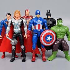 <b>6PC AVENGERS</b> FIGURES <b>Super</b> Hero Incredible Action Figures ...