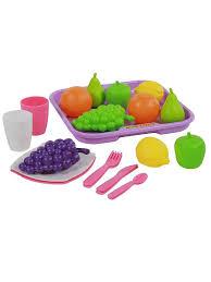 <b>Набор</b> продуктов №2 с посудкой и подносом <b>Palau Toys</b> 7103492 ...