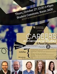 international studies ba program international studies ba careers event international studies career panel 2016 1 jpg