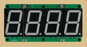 4x7 Segment display