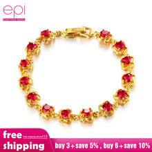 EPI <b>ювелирное изделие</b>, позолоченный <b>браслет</b> 24 K, модный ...