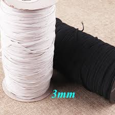 <b>50PCS Elastic</b> Ribbon Barbed <b>Cord</b> Ribbon White Barbed <b>Stretch</b> ...