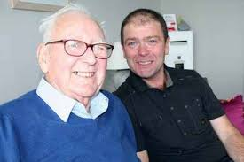 Michael Whiteley and Brian Hayes at The Cliff in New Brighton. A MERSEYSIDE dad-of-one who rescued an elderly man from a burning flat will receive the first ... - image-14-mike-154305051-3253768