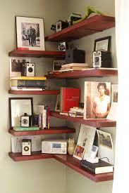 corner shelves ideas for small space or home office intended for corner shelves for space saving corner bookshelves ideas for space saving awesome shelfs small home office
