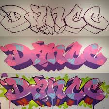 dance studio graffiti 5445