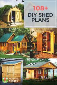 108 diy shed plans detailed step by step tutorials 108 diy shed plans ideas that you can actually build in your backyard
