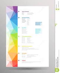 resume curriculum vitae stock vector image 55445628 resume curriculum vitae