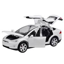 Diecast Toy <b>1:32 Scale Alloy Cars</b> for Tesla Toy Model SUV Car ...