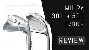 Miura <b>CB</b>-301 & MC-501 Irons Review - YouTube