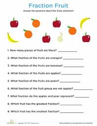 Fractions, Worksheets and Fruit on PinterestWorksheets: Fraction Fruit Fraction of a Set of Objects, tenths
