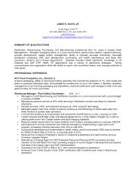 resume in warehousing and distribution s distribution sample resume warehouse lead resume for director distribution