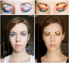 capn america iron man make up by migrainesky