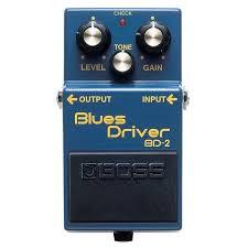 <b>Boss BD2</b> - <b>Эффект</b> блюз драйвер.