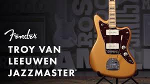 Troy Van Leeuwen Jazzmaster   Artist Signature Series   <b>Fender</b> ...