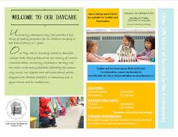 daycare brief flyer university settlement daycare brief flyer 2014