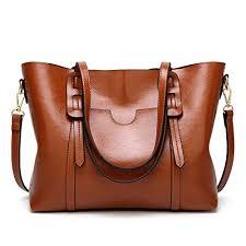Aileese <b>Womens</b> Soft Leather <b>Handbags</b> Large Capacity <b>Retro</b> ...