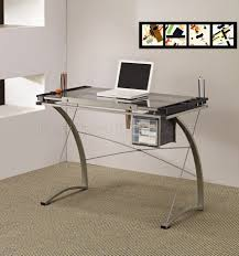 amazing glass top home office desk l23 ajmchemcom home design amazing glass office desks