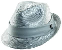 Image result for shiny grey fedora