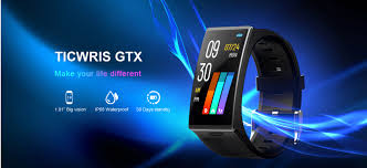 <b>TICWRIS GTX</b> Wristband Review: Comes with 300mAh 1.9 Inch 3D