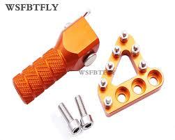 <b>Motorcycle Parts</b> Orange <b>CNC Aluminum</b> Rear Brake Disc Guard ...