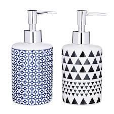 """VETTA <b>Дозатор для жидкого мыла</b>, """"Орнамент"""", керамика, 2 ..."""