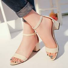 Summer Sandals <b>Fish Mouth Women Sandals</b> Suede T tied High ...