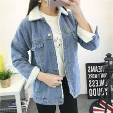 <b>Spring Autumn</b> Winter New 2019 <b>Women</b> lambswool jean <b>Coat</b> With ...