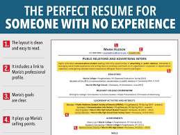 how do you create a resume no job experience resume samples how do you create a resume no job experience