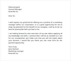 sample thank you letter to boss 16 documents in word sample appreciation letter to boss
