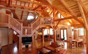 Timber Frame Home Designs and Floor Plans Examples   Great    Durango Ranch House