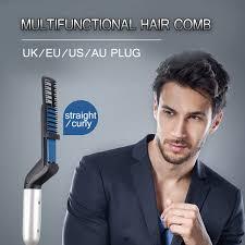 Мужской выпрямитель для бороды, многофункциональный ...