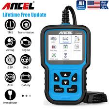 <b>Automotive</b> All System <b>OBD2</b> Diagnostic Scanner ABS EPB SAS ...