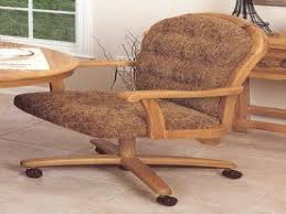 casual dining chairs with casters: swivel tilt caster chairs chromcraft dinette chair replacement casters