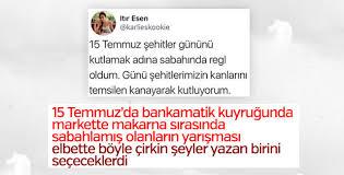 15 Temmuz ile dalga geçen Itır Esen hesabını kapattı