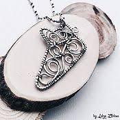 <b>Кулон</b> «Веточка оливы» - Падающий <b>кулон</b> - Ожерелье веточка ...