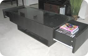 black glass top ikea hemnes coffee table with two drawers on the both sides black ikea glass top