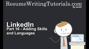 linkedin adding skills and languages part 16 linkedin adding skills and languages part 16