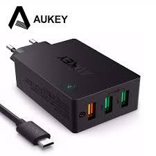 <b>AUKEY USB Зарядное</b> устройство Quick Charge 3,0 42 Вт ...