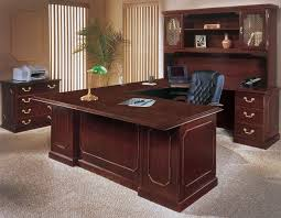 gorgeous wood office desk engaging design ideas of office furniture with red cherry wood cherry office furniture