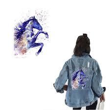 Running <b>Horse</b> Ironing on Heat TransferWashable Vinyl <b>Patches</b> ...