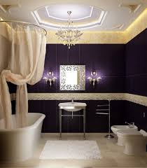 luxurious chandelier and wall sconces for bathroom lighting scheme bathroom lighting scheme