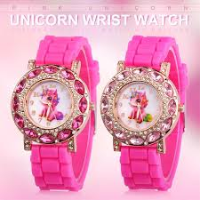 Children <b>Watch Fashion</b> Cute Pink Unicorn <b>Girl's Watch</b> Kids Casual ...